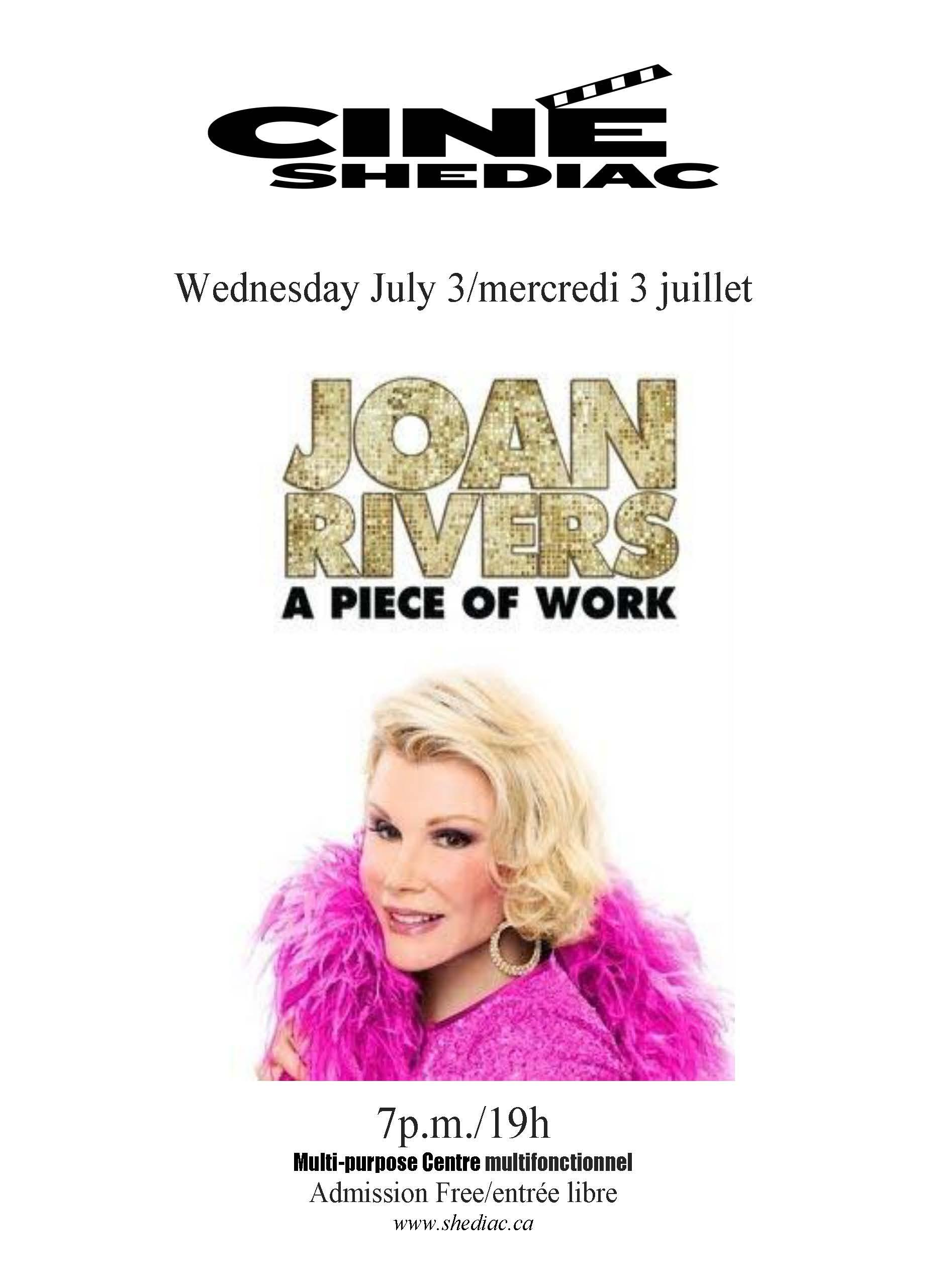Joan Rivers 3 juillet
