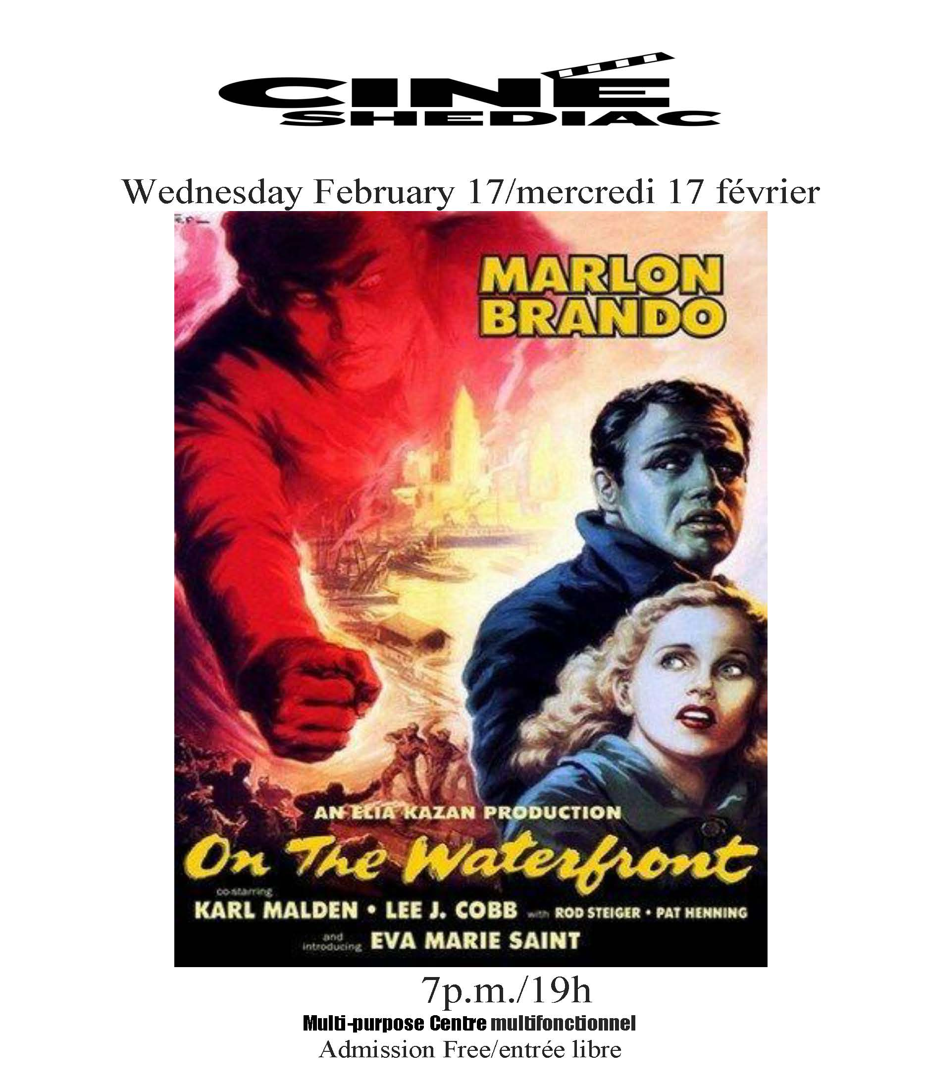 On the Waterfront 17 fevrier 2021