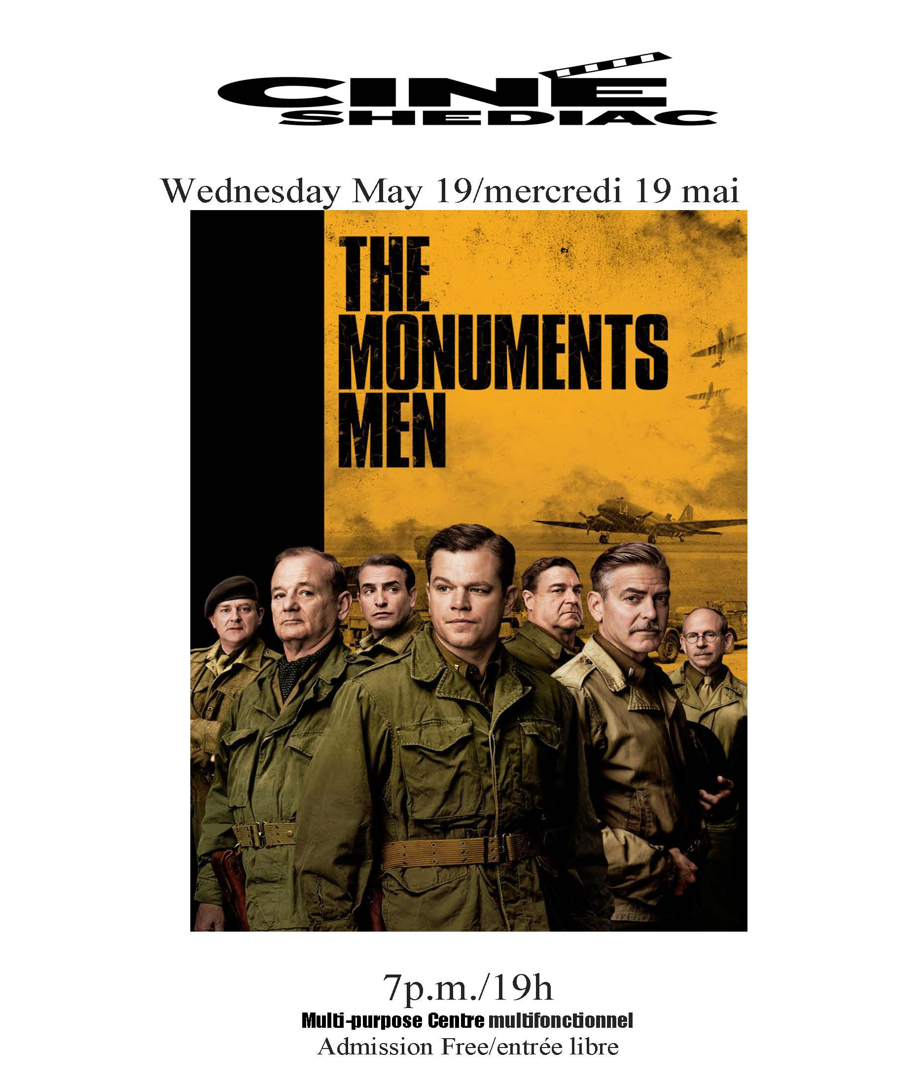 Th Monuments Men 19 mai