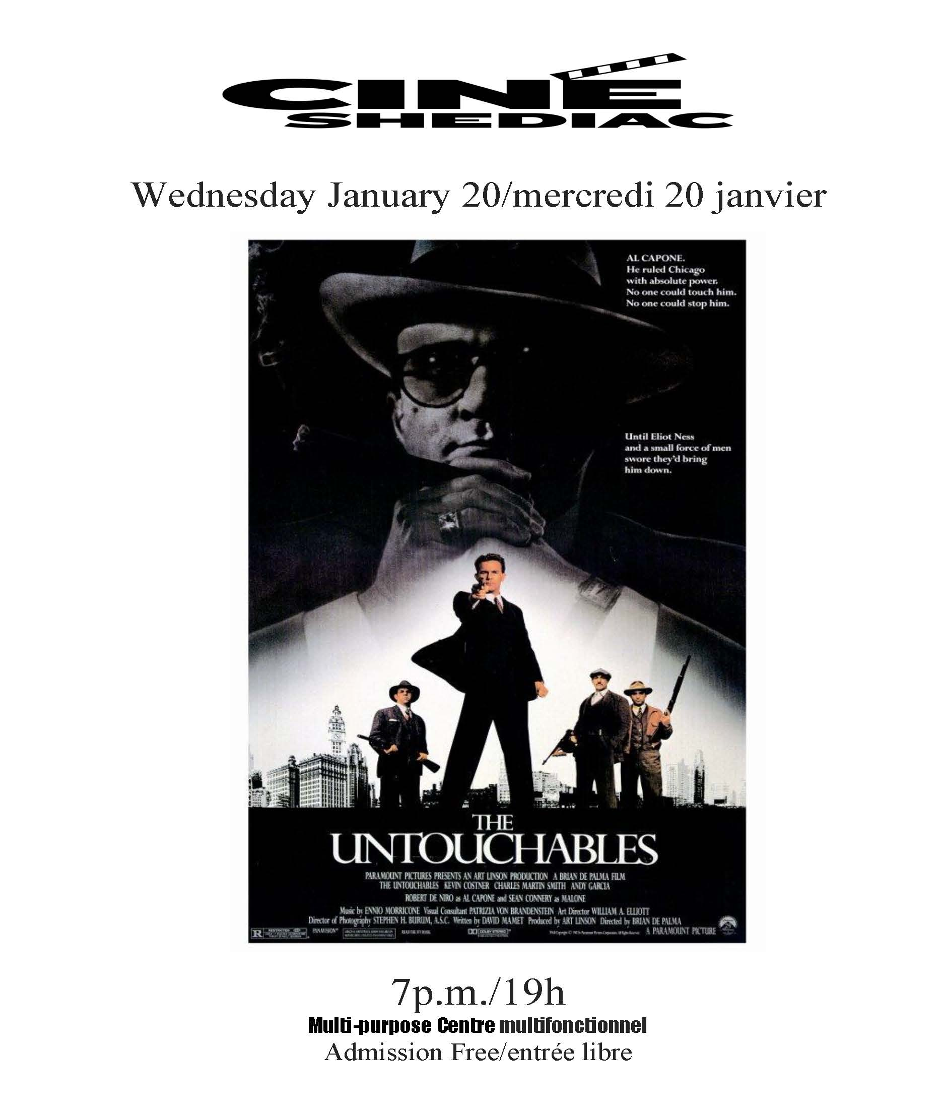The Untouchables 20 janvier 2021