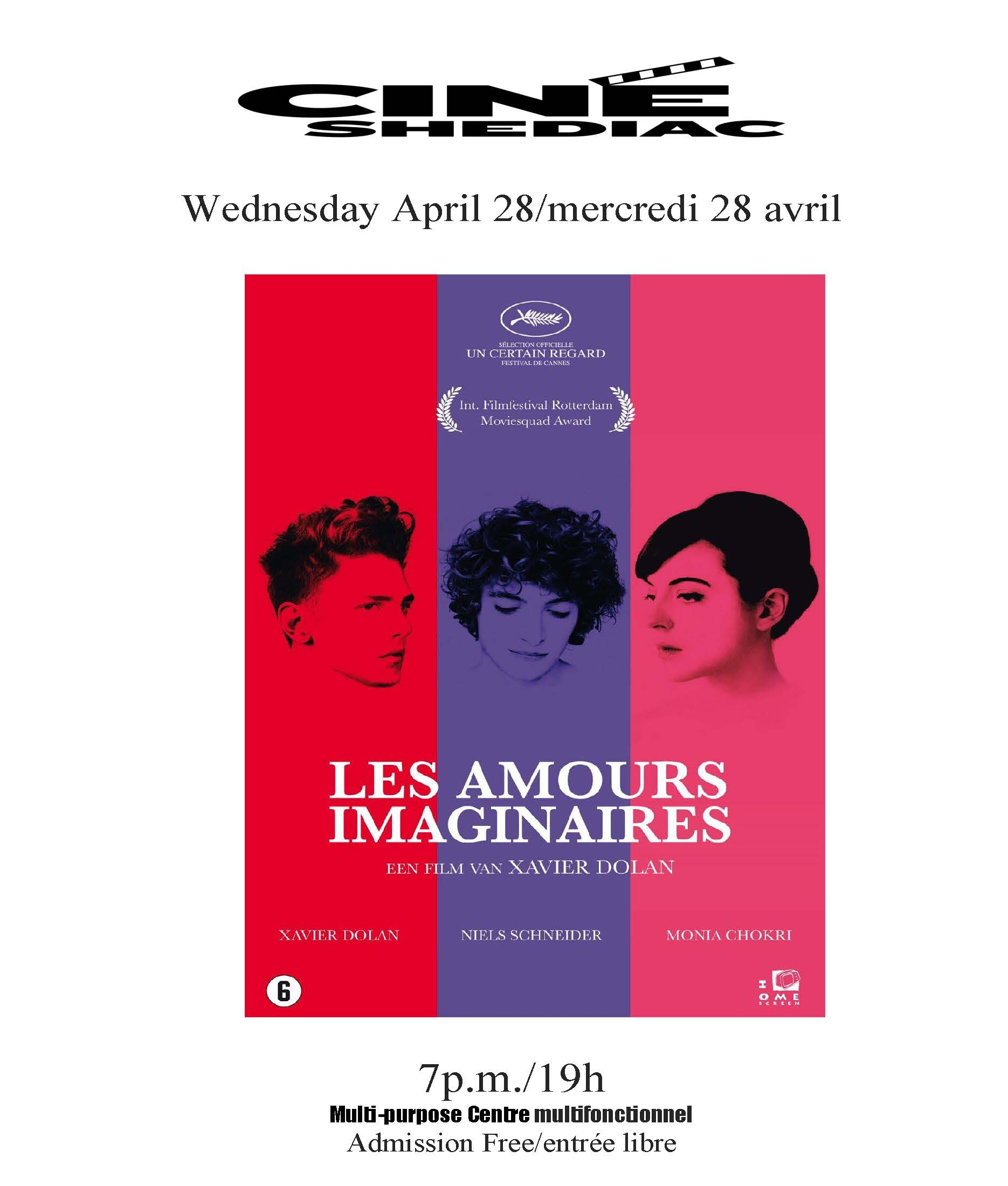 les amours imaginaires 28 avril 2021