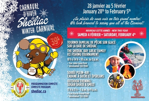 Carnaval dhiver peche sur glace