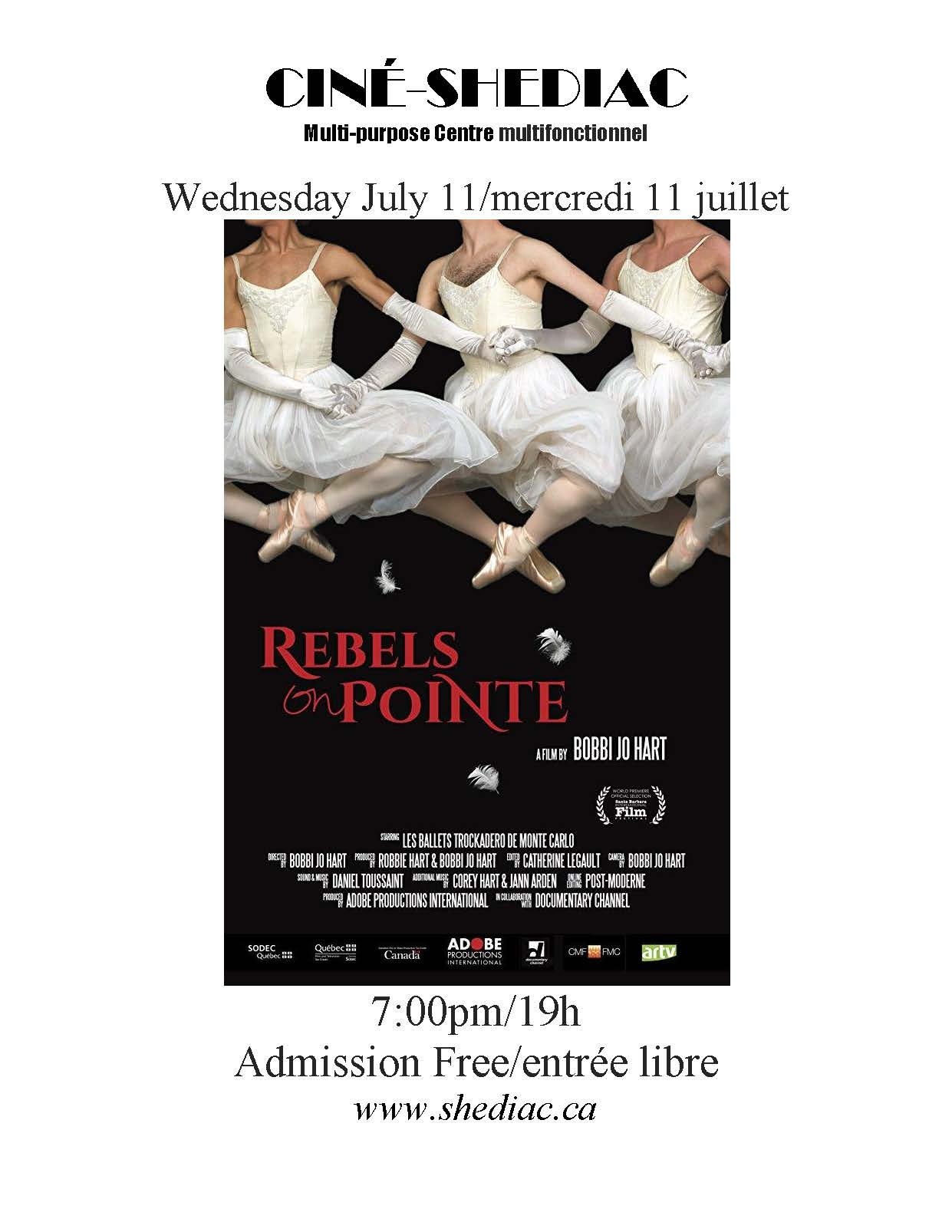 rebels on pointe July 11